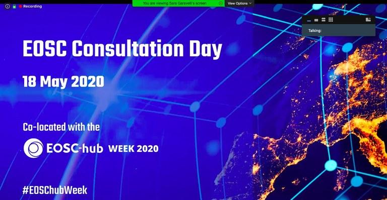 Eosc Hub week 2020