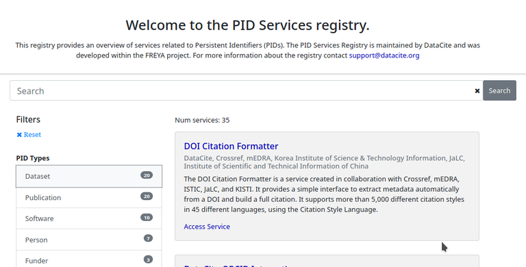 PID services